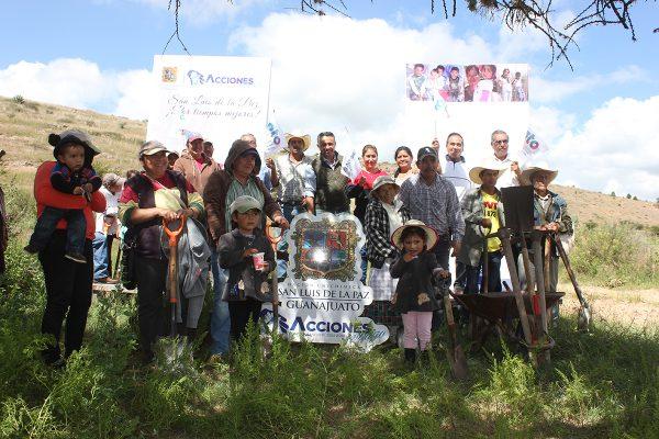Comienza el programa de empleo con responsabilidad social en la comunidad de Milpillas