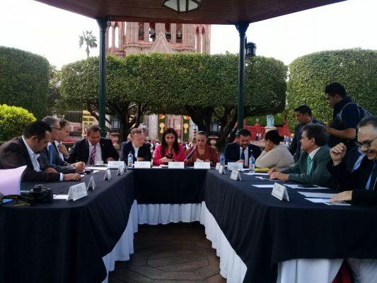 Sesiona en San Miguel de Allende la Comisión de Patrimonio de la Cámara de diputados