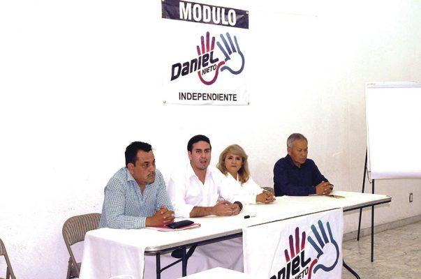 Se presenta Daniel Nieto, candidato independiente