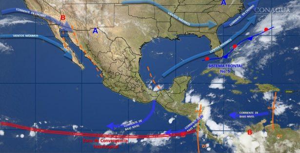 Durante el día prevalece clima templado a ligeramente cálido en el estado de Guanajuato