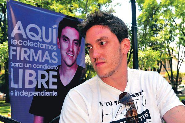 Pablo Sharpe quiere ser candidato independiente
