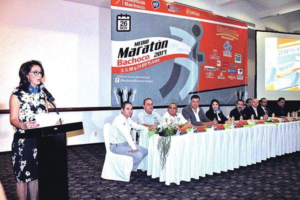 Convocan al Medio Maratón Bachoco