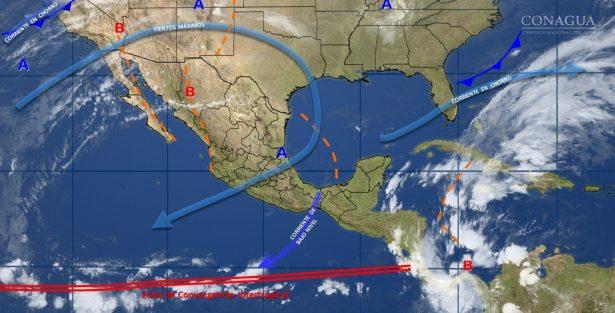 Se pronostica un ambiente templado durante el día para el estado de Guanajuato.