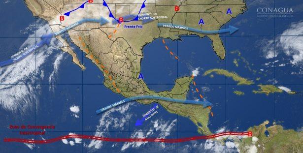 Se pronostica un ligero descenso en las temperaturas para el estado de Guanajuato