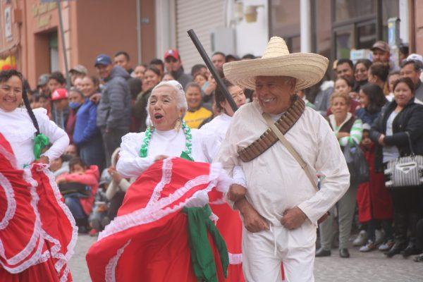 San Luis de la Paz conmemoró la Revolución Mexicana