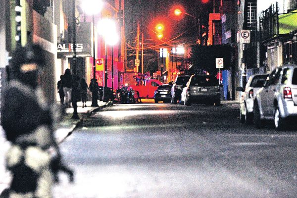 Detienen a seis a balazos en zona centro de Celaya