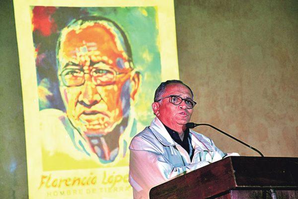 Rinden homenaje a Florencio López Ojeda