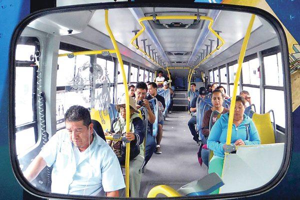 Pendiente la modernización del transporte público