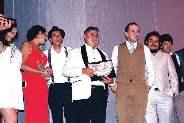 """Rubén Sandoval, primer lugar del concurso """"Voces en Corto"""""""