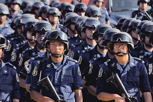 Contratarán otros mil 100 policías más en el estado