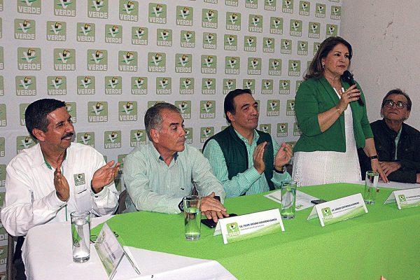 Manrique y Camarena buscan gubernatura por el Verde