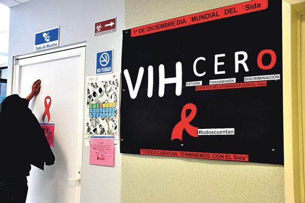 VIH la puso  al borde de  la muerte