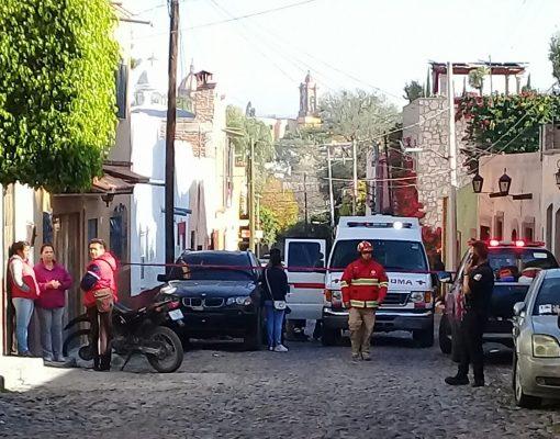Explosión en San Miguel de Allende