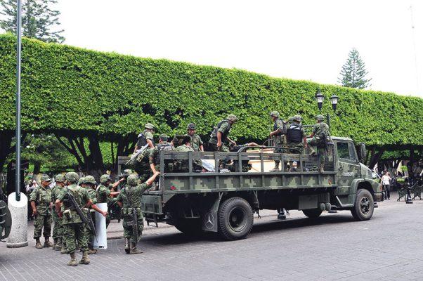 Confían en Brigada Militar para abatir la inseguridad