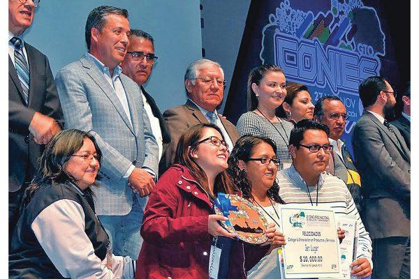 Ganan cinco premios nacionales tecnológicos de Guanajuato