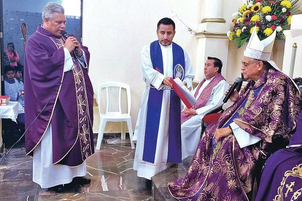 Invita obispo Benjamín a cambiar la violencia por una realidad cristiana