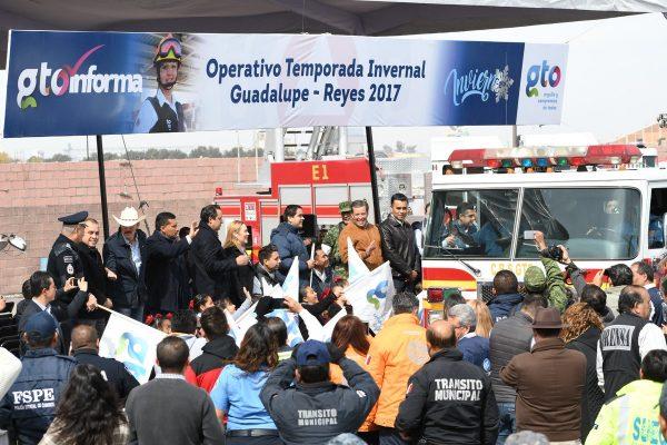 Arranca operativo Guadalupe-Reyes