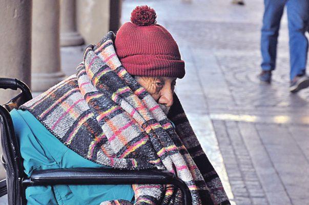 Hay cerca de seis mil personas en riesgo por el frío