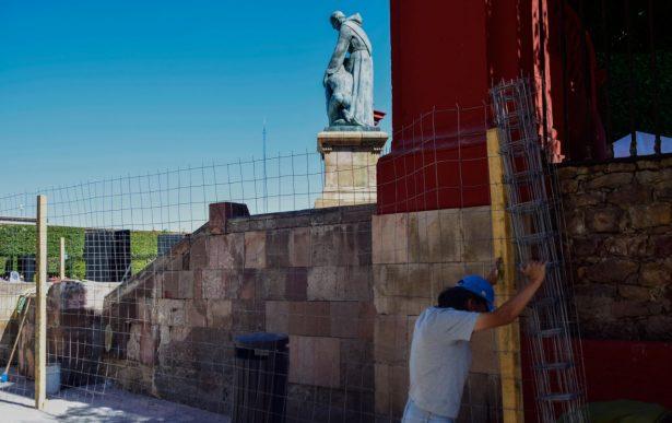 Restauran zona patrimonio de San Miguel de Allende