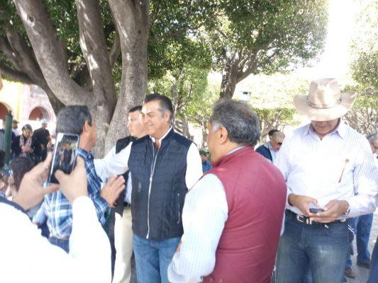 Recorrió El Bronco Guanajuato