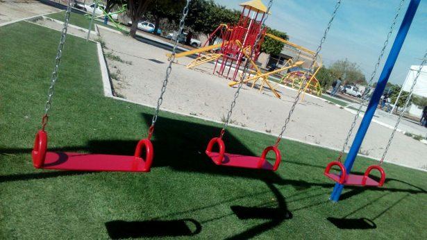 Calles dignas y parque para San Isidro de Crespo