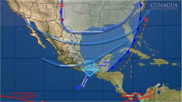 Se pronostican mañanas y noches frías con heladas matutinas en zonas montañosas del estado de Guanajuato