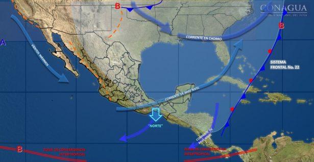 Se mantiene el descenso de temperaturas durante las próximas horas en el estado de Guanajuato