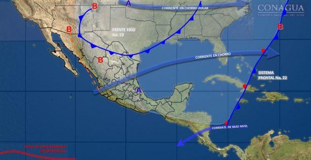 Prevalece clima templado durante el día en gran parte del estado de Guanajuato