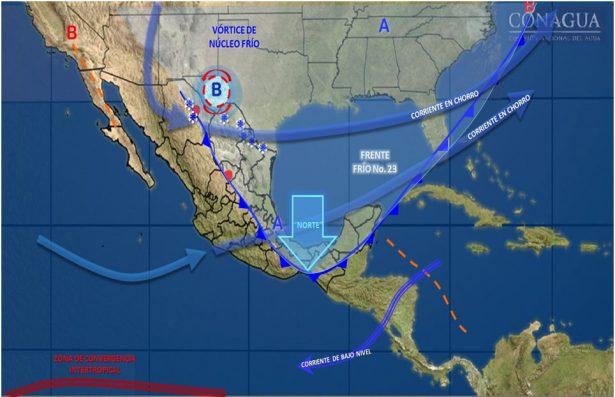 Ligera descenso en las temperaturas durante las próximas horas en el estado de Guanajuato