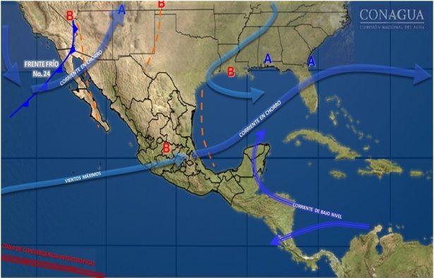 Se espera ligera recuperación en las temperaturas durante el día en gran parte del estado de Guanajuato