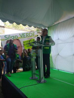 Se registró Camarena como candidato a gobernador por el PVEM