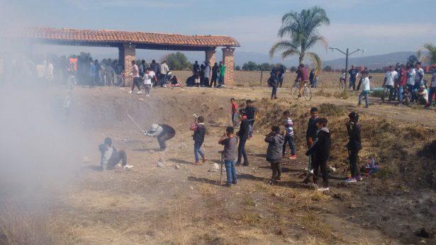 """Van 17 lesionados en festejo de """"San Juanito"""""""