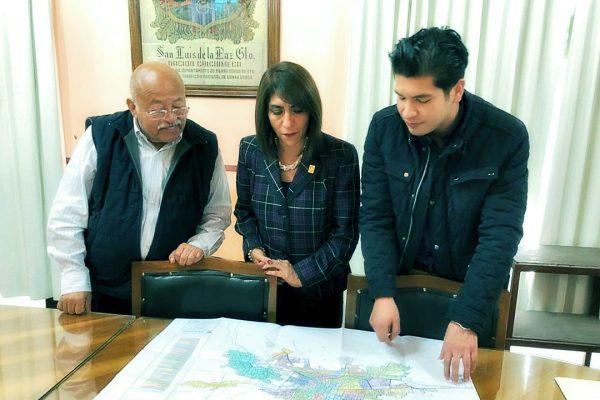 Presidenta Claudia Barrera gestiona donación de predios en San Luis de la Paz y San José Iturbide para Poder Judicial