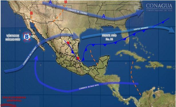 Se mantiene probabilidad de lluvias aisladas hacia el noroeste del estado de Guanajuato