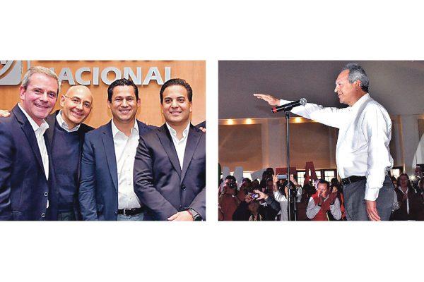 Diego y Gerardo, ya son candidatos del PAN y PRI