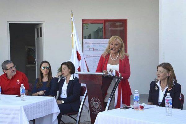 Inauguran nuevo edificio de la Cruz Roja; se han invertido 2.3 mdp
