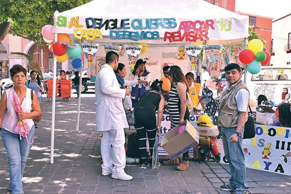 Intensifican las acciones contra dengue