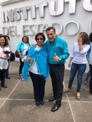 Bertha Solórzano Lujano ya es candidata de Nueva Alianza