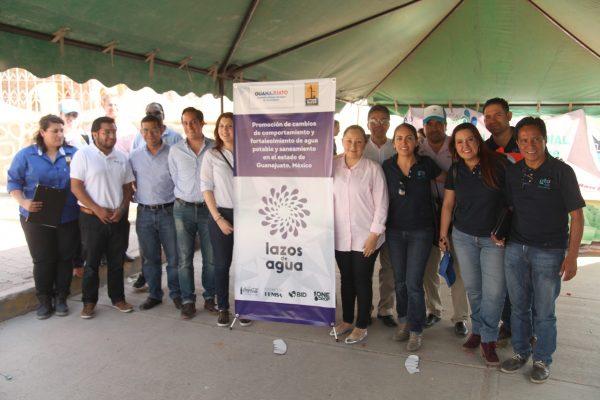 """Arranca proyecto """"Lazos de Agua"""" en Guanajuato"""