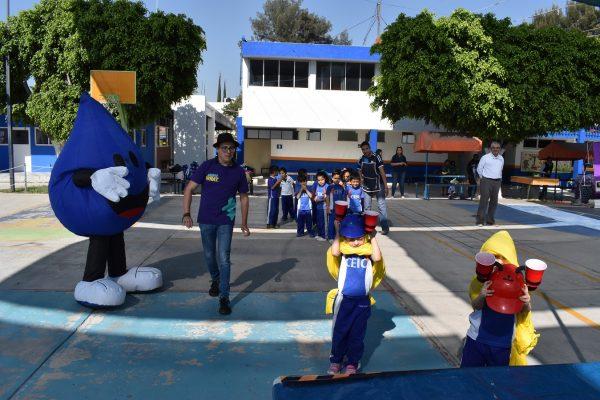 Día Mundial del Agua en escuelas