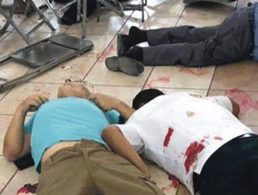 Siete muertos en balacera en Purísima del Rincón