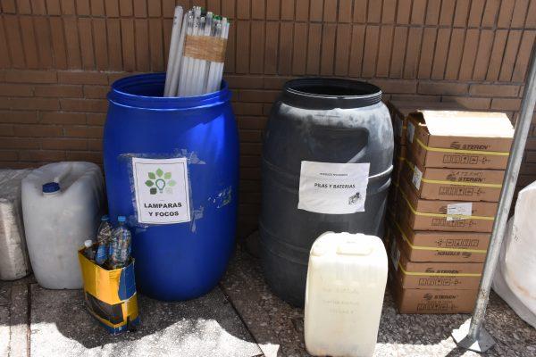 Recolectaron residuos y materiales peligrosos