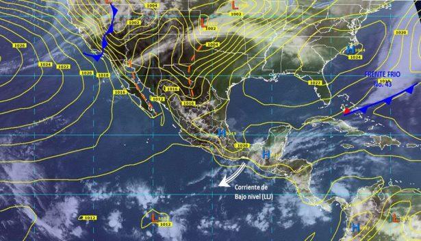 Se prevén lluvias con tormentas eléctricas en el estado de Guanajuato