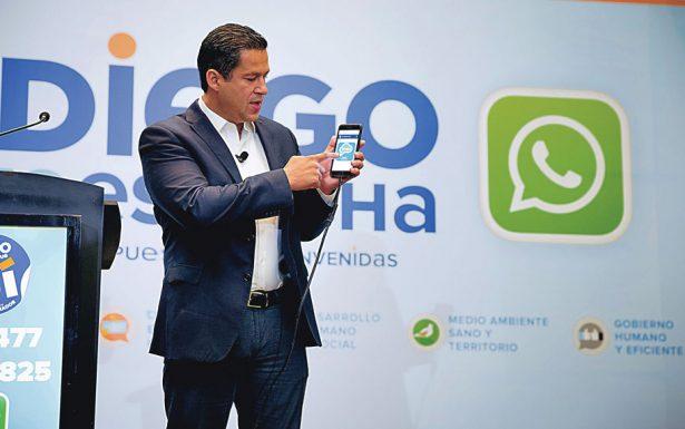 Presentó Diego Sinhué su plataforma digital