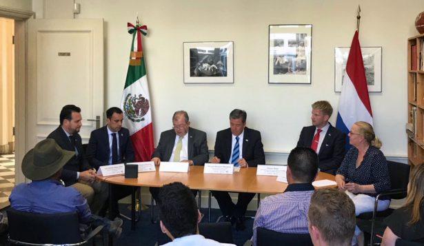 Presentan a empresarios de Holanda alternativas de inversión en Guanajuato