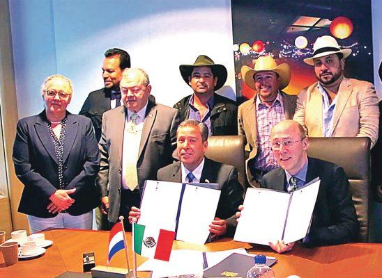 Impulsarán agricultura Guanajuato y Holanda