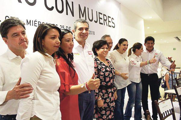 Pide Ochoa a jóvenes y mujeres votar por el PRI