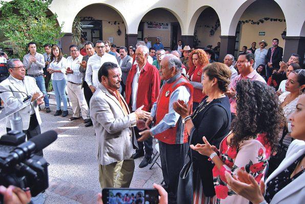 Cumple Santiago García su periodo estatutario en el PRI