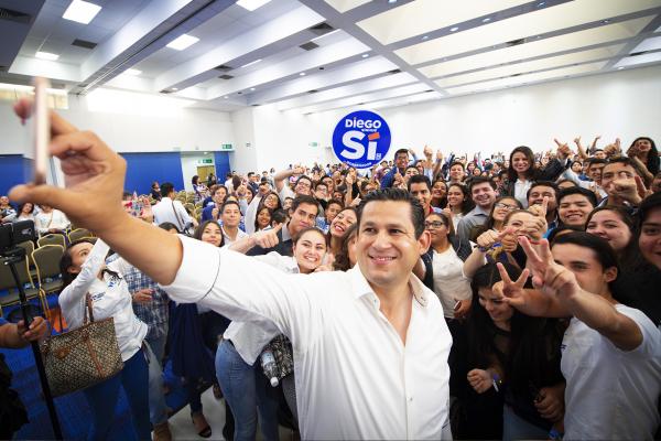 Impulsará Diego Sinhué programas para jóvenes