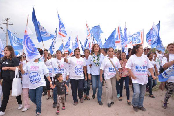 Cierra campaña el 24, Elvira Paniagua